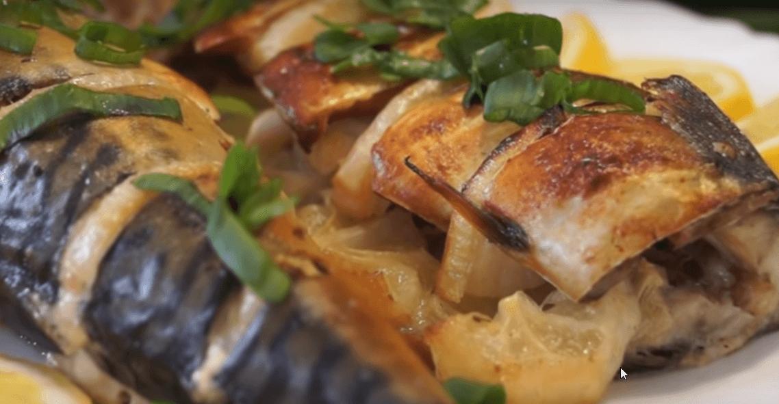 Вкусная скумбрия в аэрогриле – легкие и простые рецепты